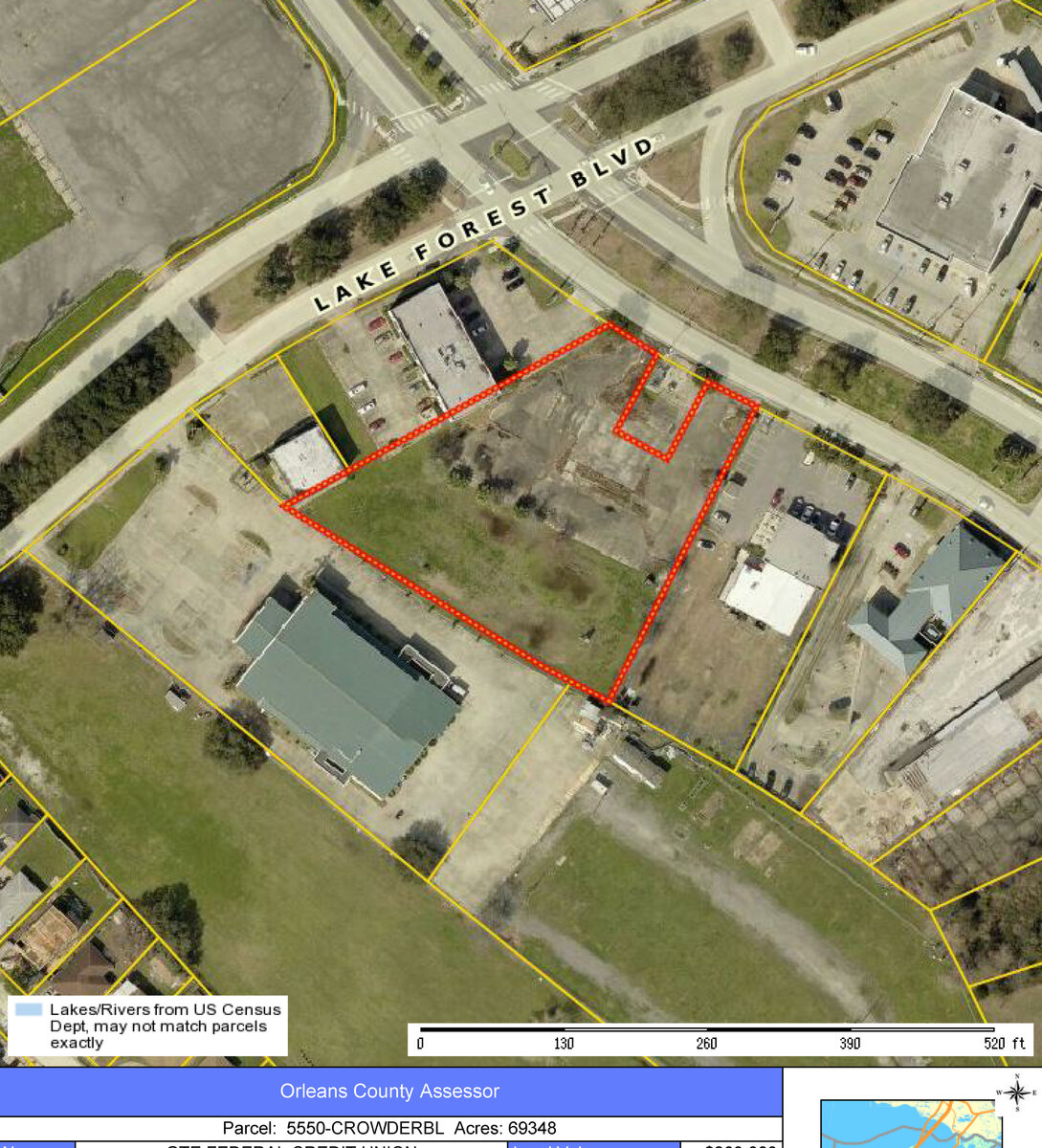 5550 crowder blvd new orleans la vacant land for sale for Office of motor vehicles new orleans la