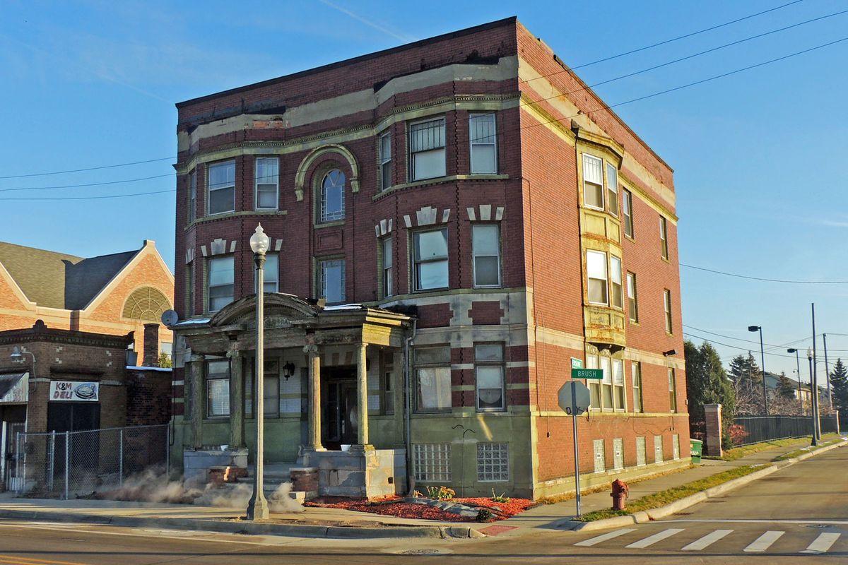 3402 Brush Street Detroit Mi Multi Family For Sale