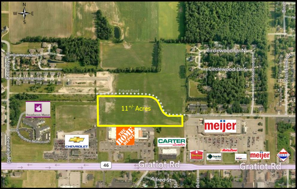 Martin Chevrolet Saginaw >> Shields Drive, Saginaw, MI - Vacant Land for Sale - CPIX powered by Catylist