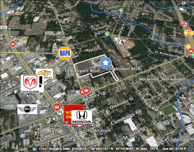 128 Airport Blvd Pensacola Fl Special Purpose For Sale