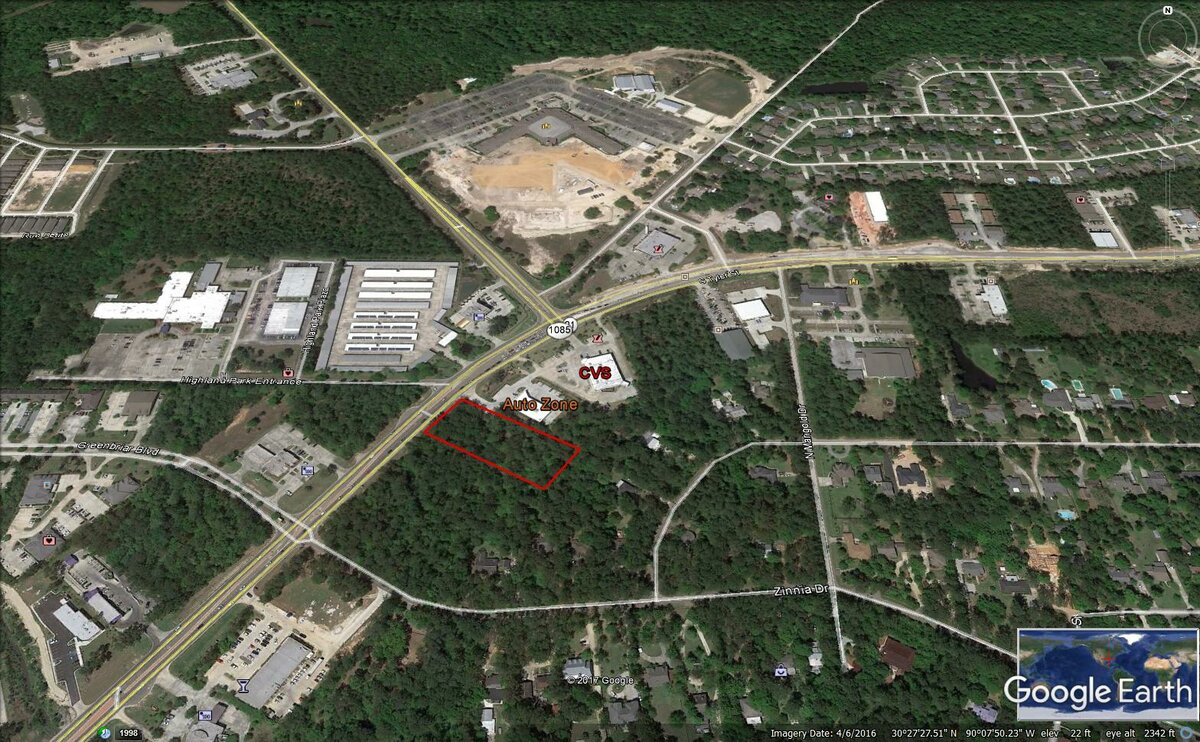 highway 21  covington  la - vacant land for sale