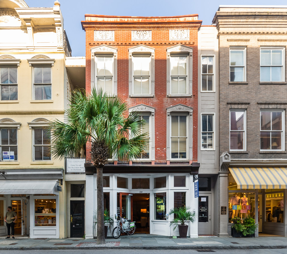 King St Charleston Sc: Retail-Commercial For Lease