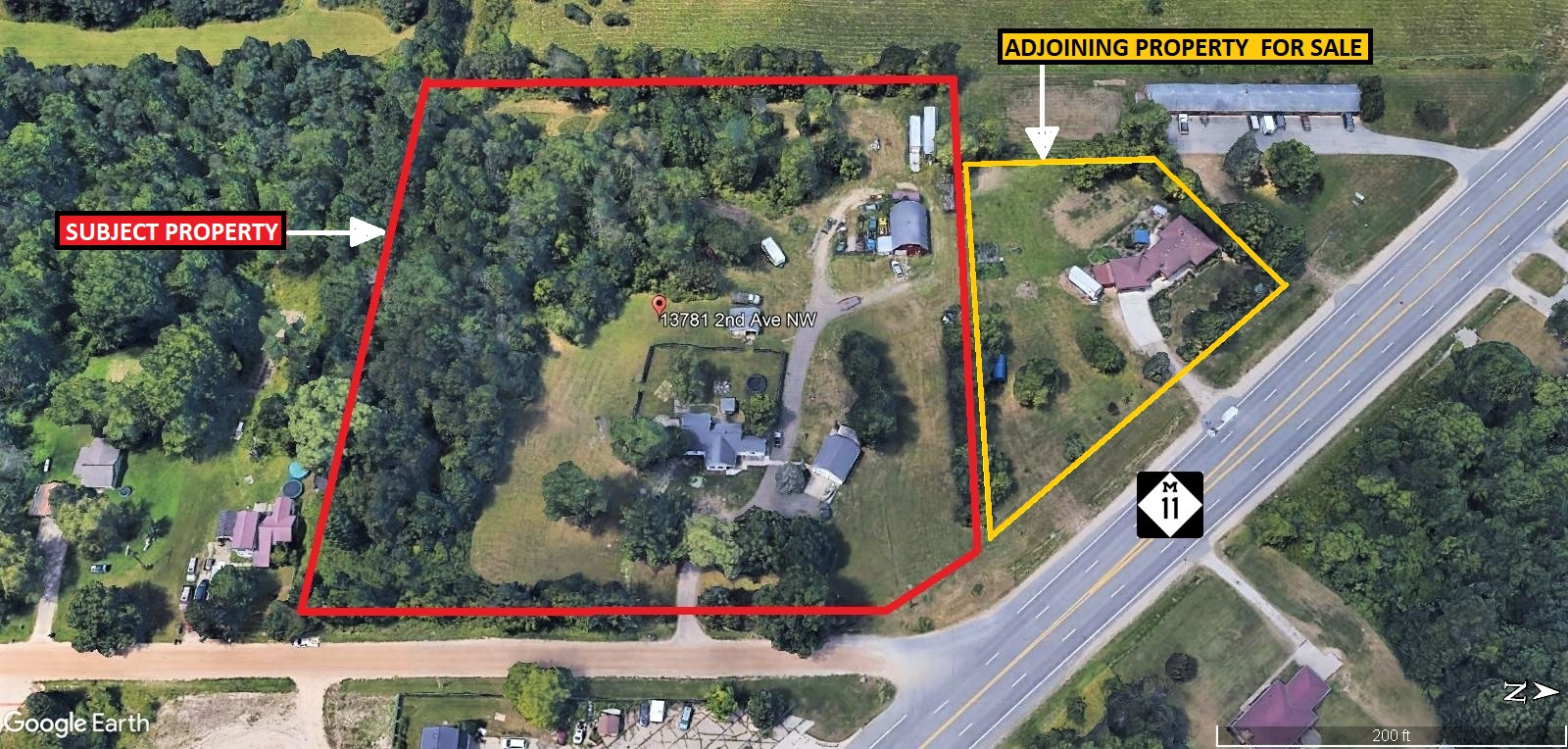 IRONWOOD DR (M-11)  5+ ACRE COMMERCIAL & INDUSTRIAL PARCELImage