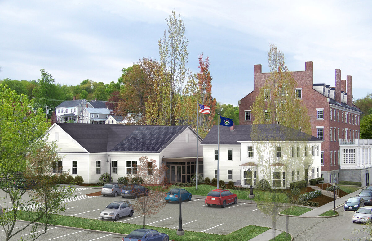 Hallowell House Office Space for Lease