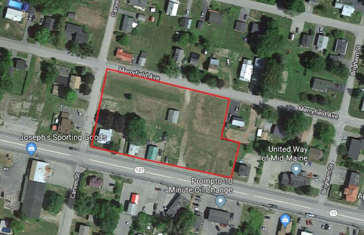 Corner Lot Available on Kennedy Memorial Drive